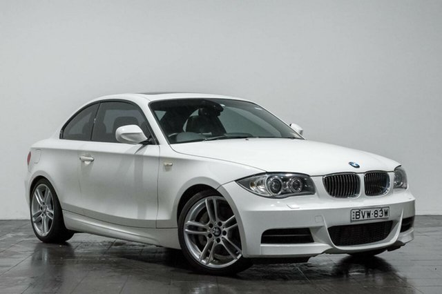 Used BMW 135i M Sport D-CT, Rozelle, 2011 BMW 135i M Sport D-CT Coupe