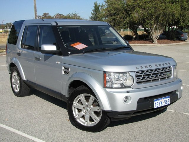 Used Land Rover Discovery 4 TdV6 CommandShift SE, Maddington, 2009 Land Rover Discovery 4 TdV6 CommandShift SE Wagon