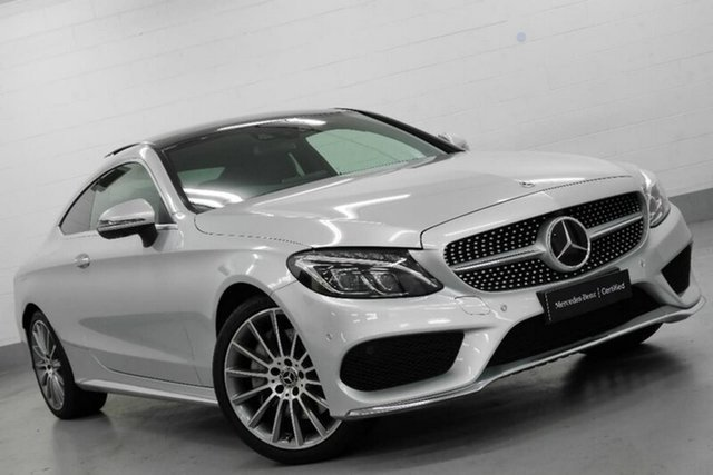 Used Mercedes-Benz C300 9G-TRONIC, Warwick Farm, 2017 Mercedes-Benz C300 9G-TRONIC Coupe