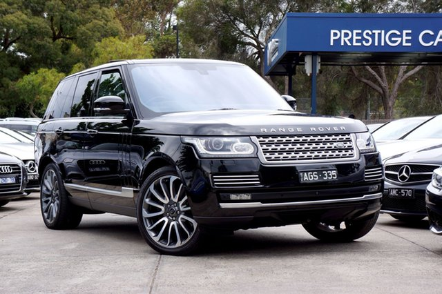 Used Land Rover Range Rover SDV8 Autobiography, Balwyn, 2015 Land Rover Range Rover SDV8 Autobiography Wagon