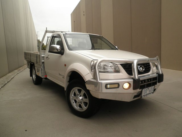 Used Great Wall V200, Cheltenham, 2012 Great Wall V200 Cab Chassis