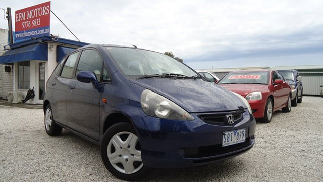 Used Honda Jazz GLi, Seaford, 2002 Honda Jazz GLi Hatchback