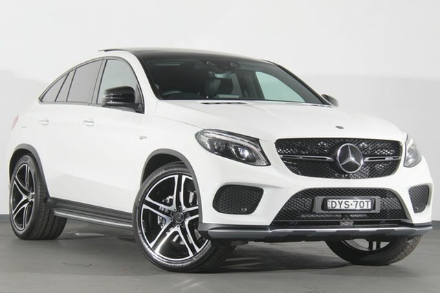 Demonstrator, Demo, Near New Mercedes-Benz GLE43 AMG Coupe 9G-Tronic 4MATIC, Warwick Farm, 2018 Mercedes-Benz GLE43 AMG Coupe 9G-Tronic 4MATIC SUV