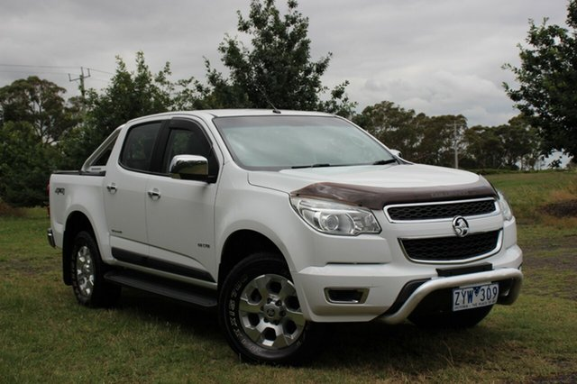 Used Holden Colorado LTZ Crew Cab, Officer, 2013 Holden Colorado LTZ Crew Cab Utility