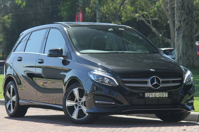 Demonstrator, Demo, Near New Mercedes-Benz B180 DCT, Warwick Farm, 2018 Mercedes-Benz B180 DCT Hatchback
