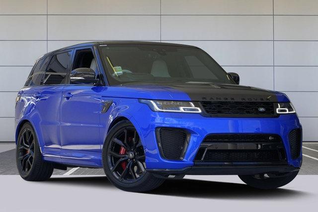 New Land Rover Range Rover Sport V8SC SVR, Southport, 2018 Land Rover Range Rover Sport V8SC SVR Wagon