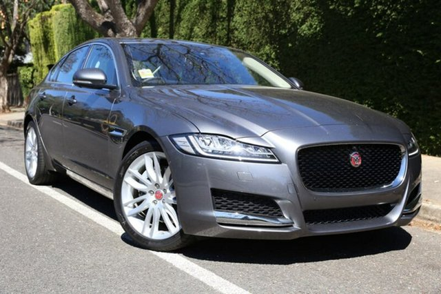 Demonstrator, Demo, Near New Jaguar XF 25t Portfolio, Hawthorn, 2017 Jaguar XF 25t Portfolio Sedan