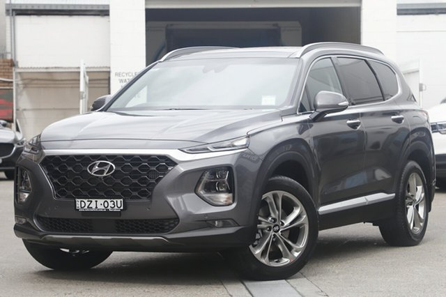 Demonstrator, Demo, Near New Hyundai Santa Fe Highlander, Brookvale, 2018 Hyundai Santa Fe Highlander Wagon