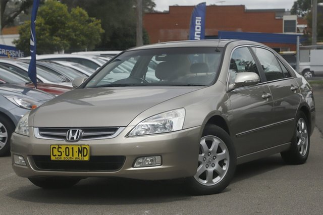 Used Honda Accord V6 Luxury, Brookvale, 2003 Honda Accord V6 Luxury Sedan