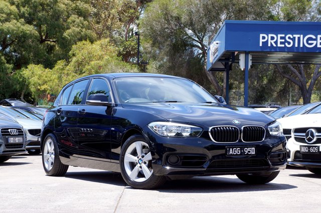 Used BMW 118i Sport Line Steptronic, Balwyn, 2015 BMW 118i Sport Line Steptronic Hatchback
