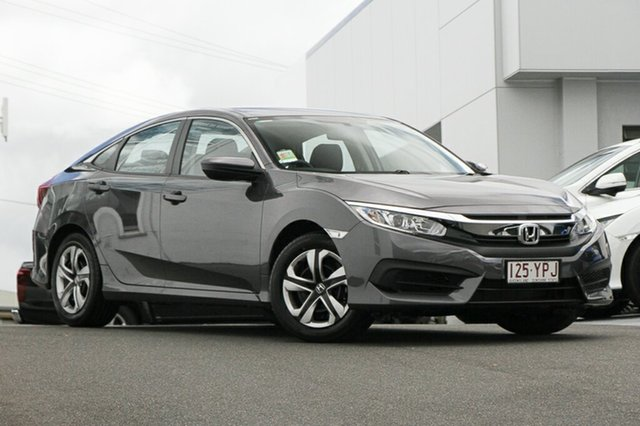 Demonstrator, Demo, Near New Honda Civic VTi, Indooroopilly, 2018 Honda Civic VTi Sedan