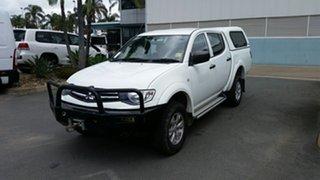 Used Mitsubishi Triton GLX Double Cab, Acacia Ridge, 2013 Mitsubishi Triton GLX Double Cab MN MY14 Utility