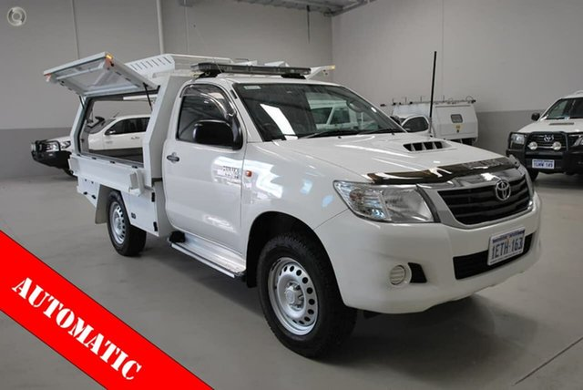 Used Toyota Hilux SR, Kenwick, 2014 Toyota Hilux SR Cab Chassis