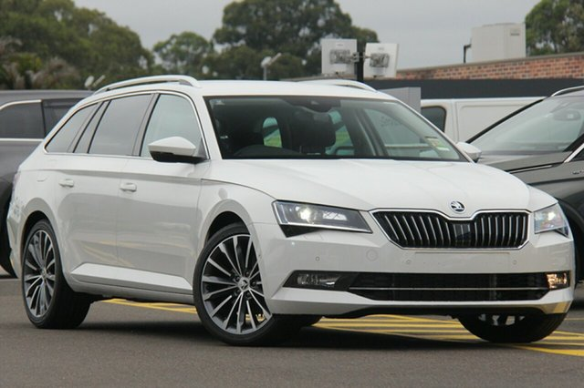 Demonstrator, Demo, Near New Skoda Superb 162TSI DSG, Warwick Farm, 2018 Skoda Superb 162TSI DSG Wagon