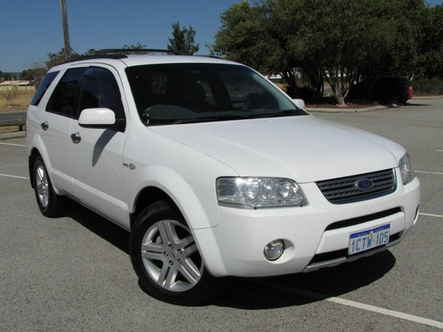 Used Ford Territory Ghia AWD, Maddington, 2007 Ford Territory Ghia AWD Wagon