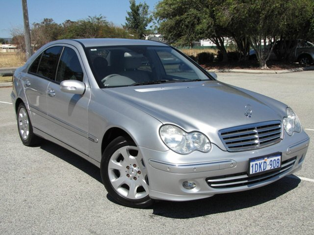 Used Mercedes-Benz C200 Kompressor Elegance, Maddington, 2004 Mercedes-Benz C200 Kompressor Elegance Sedan