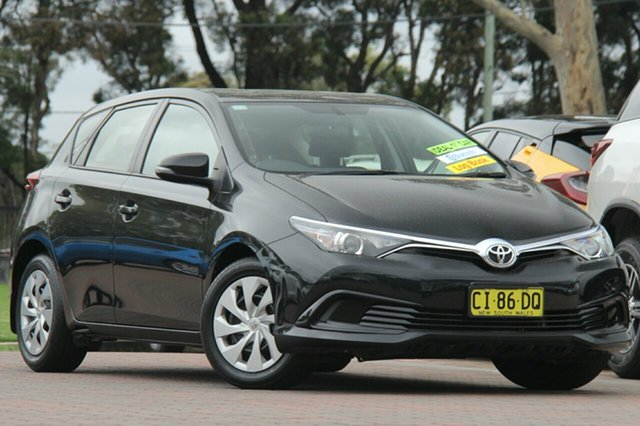 Used Toyota Corolla Ascent S-CVT, Southport, 2016 Toyota Corolla Ascent S-CVT Hatchback