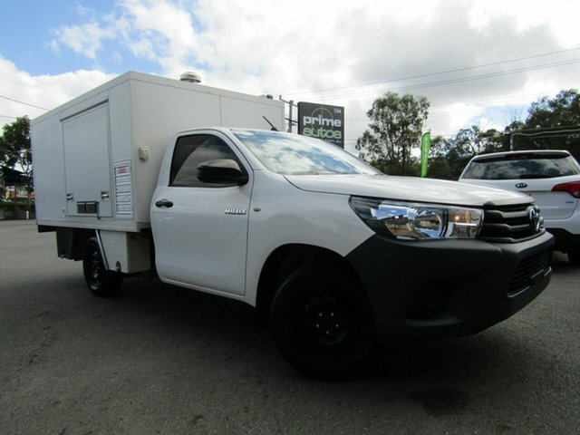Used Toyota Hilux Workmate, Underwood, 2016 Toyota Hilux Workmate Cab Chassis