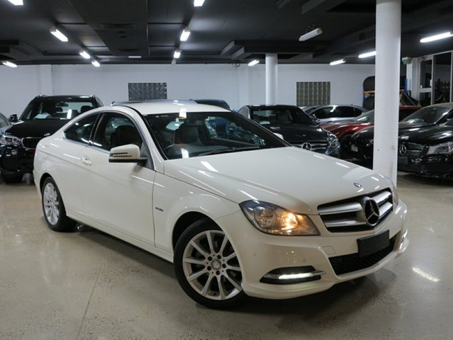 Used Mercedes-Benz C180 BlueEFFICIENCY 7G-Tronic +, Albion, 2011 Mercedes-Benz C180 BlueEFFICIENCY 7G-Tronic + Coupe