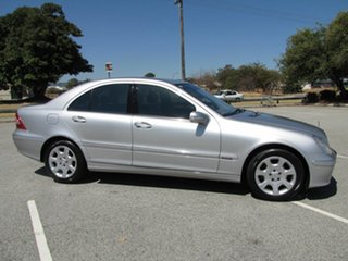 2004 Mercedes-Benz C200 Kompressor Elegance Sedan.