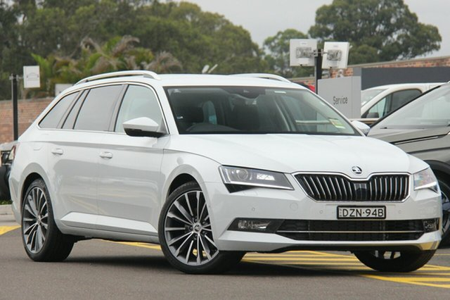 Demonstrator, Demo, Near New Skoda Superb 162TSI DSG, Southport, 2018 Skoda Superb 162TSI DSG Wagon