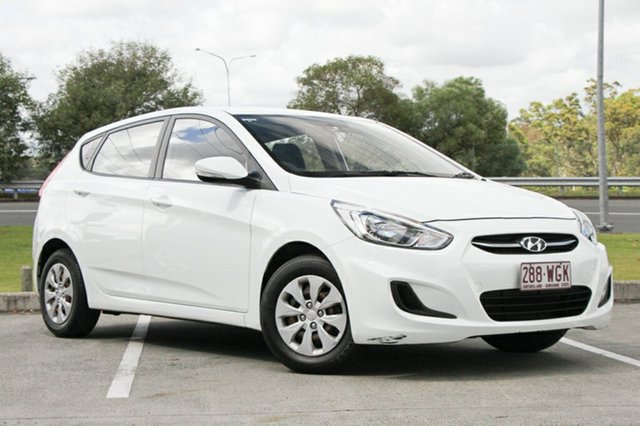 Used Hyundai Accent Active, Indooroopilly, 2015 Hyundai Accent Active Hatchback