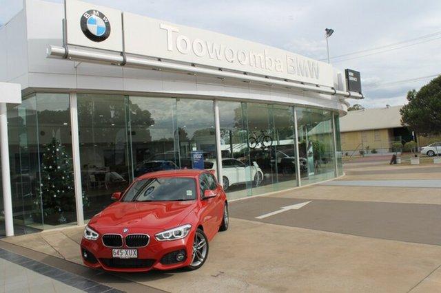 Demonstrator, Demo, Near New BMW 125i M Sport, Toowoomba, 2018 BMW 125i M Sport Hatchback