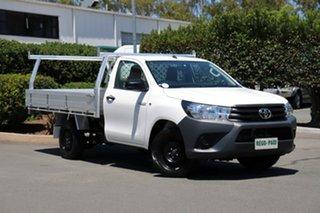 Used Toyota Hilux Workmate 4x2, Acacia Ridge, 2017 Toyota Hilux Workmate 4x2 GUN122R Cab Chassis