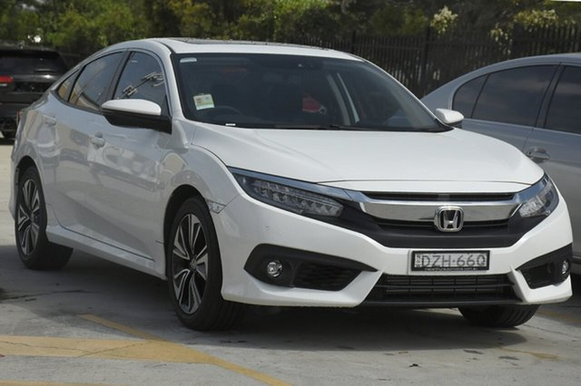 Discounted Demonstrator, Demo, Near New Honda Civic VTI-LX, Southport, 2018 Honda Civic VTI-LX Sedan