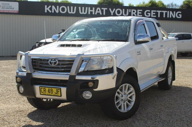 Used Toyota Hilux SR5 (4x4), Southport, 2012 Toyota Hilux SR5 (4x4) Dual Cab Pick-up
