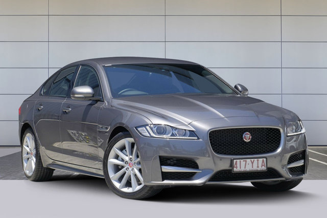 Discounted Demonstrator, Demo, Near New Jaguar XF 25T R-Sport, Southport, 2017 Jaguar XF 25T R-Sport Sedan