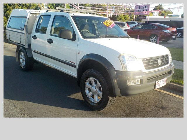 Used Holden Rodeo LX, Margate, 2004 Holden Rodeo LX Dual Cab