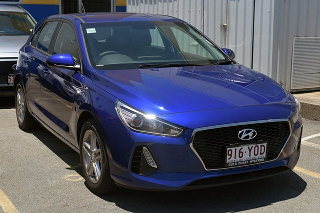 Demonstrator, Demo, Near New Hyundai i30 Go, Southport, 2018 Hyundai i30 Go Hatchback