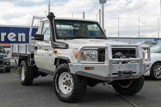 Used Toyota Landcruiser Workmate (4x4), Oakleigh, 2013 Toyota Landcruiser Workmate (4x4) VDJ79R MY12 Update Cab Chassis