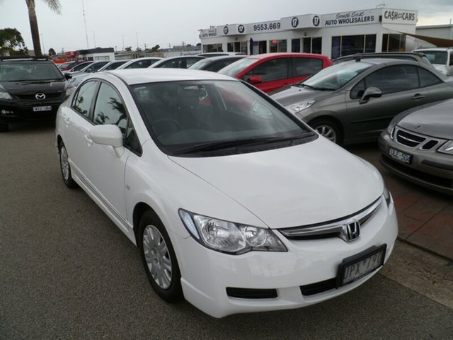 Used Honda Civic VTi, Cheltenham, 2007 Honda Civic VTi Sedan