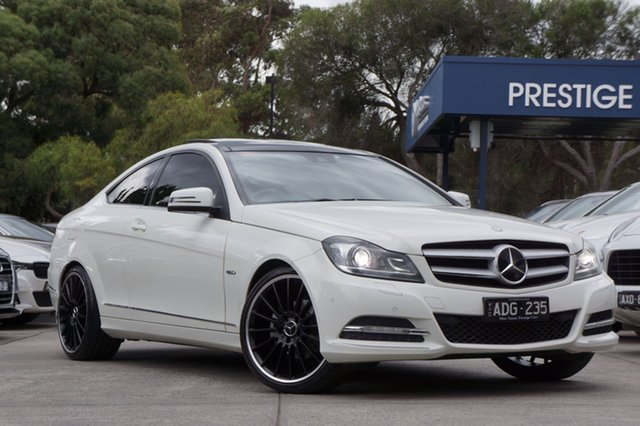 Used Mercedes-Benz C250 CDI BlueEFFICIENCY 7G-Tronic, Balwyn, 2011 Mercedes-Benz C250 CDI BlueEFFICIENCY 7G-Tronic Coupe