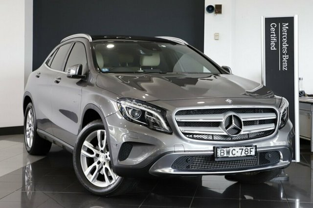 Used Mercedes-Benz GLA 250 4MATIC DCT 4MATIC, Warwick Farm, 2015 Mercedes-Benz GLA 250 4MATIC DCT 4MATIC Wagon