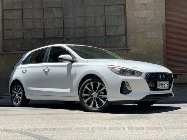 Demonstrator, Demo, Near New Hyundai i30 Elite, Cheltenham, 2018 Hyundai i30 Elite Hatchback