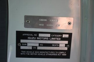 2007 Isuzu NPR 400 Premium Crew Cab Chassis.
