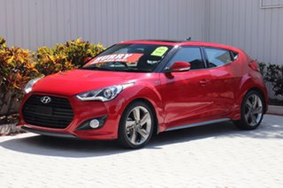 2014 Hyundai Veloster SR Coupe Turbo Hatchback.