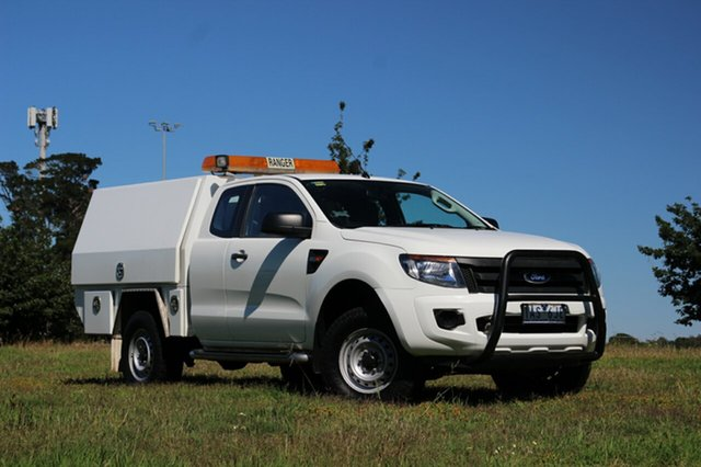 Used Ford Ranger XL Super Cab 4x2 Hi-Rider, Officer, 2014 Ford Ranger XL Super Cab 4x2 Hi-Rider Cab Chassis