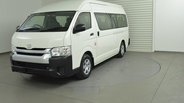 Used Toyota Hiace Commuter High Roof Super LWB, Warwick Farm, 2017 Toyota Hiace Commuter High Roof Super LWB Bus