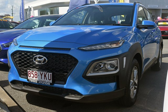 Demonstrator, Demo, Near New Hyundai Kona, Southport, 2018 Hyundai Kona Wagon