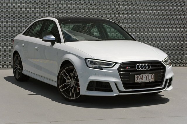 Demonstrator, Demo, Near New Audi S3 2.0 TFSI Quattro, Southport, 2018 Audi S3 2.0 TFSI Quattro Sedan