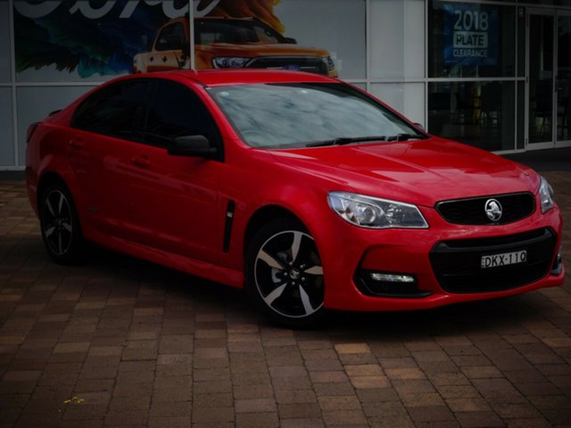 Discounted Used Holden Commodore SV6 Black, Warwick Farm, 2016 Holden Commodore SV6 Black Sedan