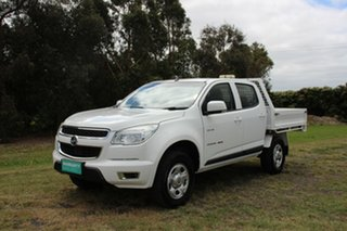 2013 Holden Colorado LX Crew Cab Cab Chassis.