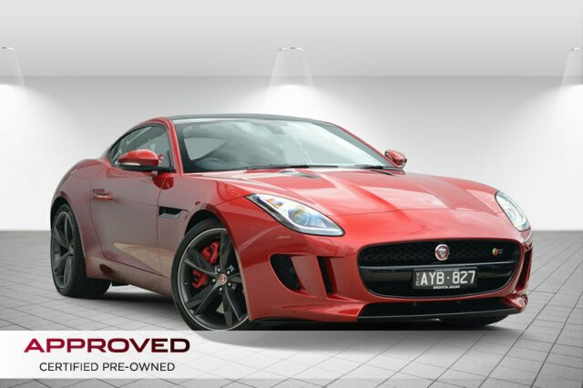 Discounted Used Jaguar F-TYPE S Quickshift RWD, Clayton, 2015 Jaguar F-TYPE S Quickshift RWD Coupe