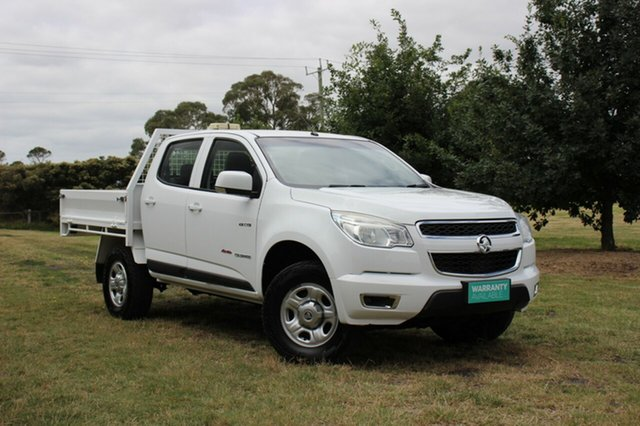 Used Holden Colorado LX Crew Cab, Officer, 2013 Holden Colorado LX Crew Cab Cab Chassis