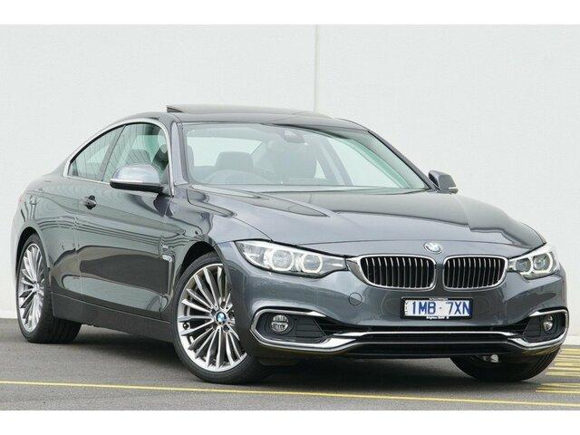 Used BMW 420i Luxury Line, Clayton, 2017 BMW 420i Luxury Line Coupe