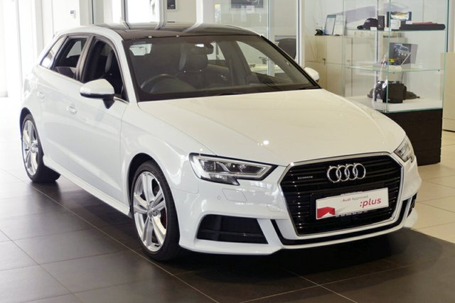 Used Audi A3 S Line Sportback S Tronic Quattro, Southport, 2017 Audi A3 S Line Sportback S Tronic Quattro Hatchback